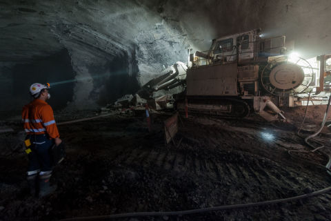 CPB Contractors - News Item Image - WestConnex M4 East Project, Concord tunnel site - Roadheaders - Apr17.jpg