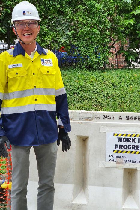 Singapore – Marcus Ng, Leighton Asia Senior Quantity Surveyor, North-South Transportation Corridor N103 Project.