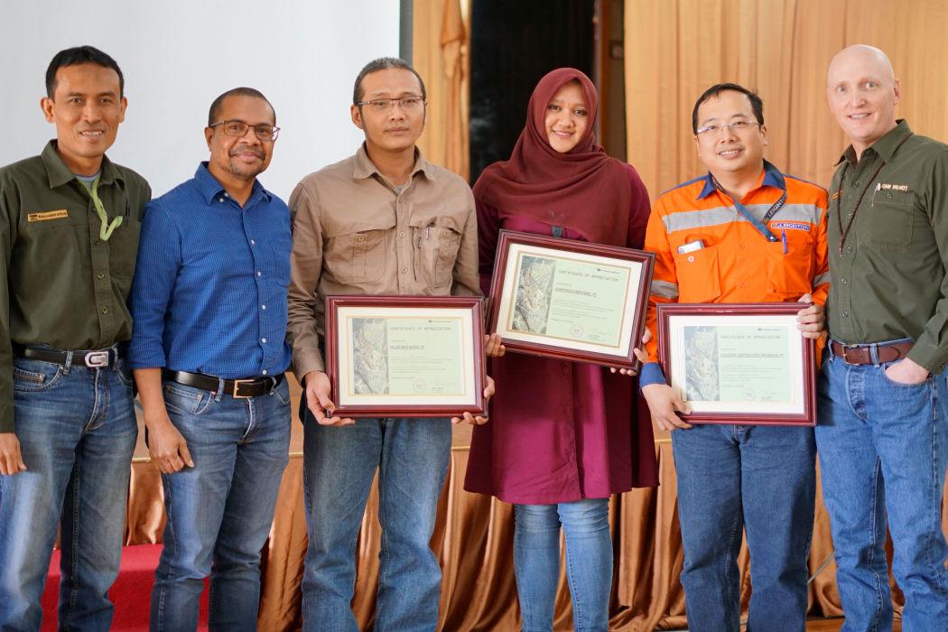 Leighton Asia's team in Indonesia wins safety award